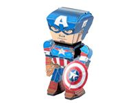 Picture of AVENGERS MARVEL FASCINATIONS CAPTAIN AMERICA METAL EARTH LEGENDS