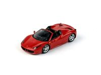 Immagine di TSM MODEL TRUE SCALE MINIATURES FERRARI 458 SPIDER 2012 ROSSO CORSA FUJIMI 1/43