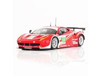 Immagine di TSM MODEL TRUE SCALE MINIATURES FERRARI 458 ITALIA GTE PRO #59 TEAM LUXURY 2ND PLACE 24H LE MANS 2012 FUJIMI 1/43