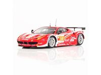 Immagine di TSM MODEL TRUE SCALE MINIATURES FERRARI 458 ITALIA GTE AM #58 TEAM LUXURY RACING 24H LE MANS 2012 FUJIMI 1/43