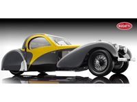 Immagine di BAUER BUGATTI ATALANTE TYPE 57SC 1937 YELLOW & BLACK 1/12