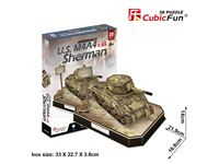Picture of CUBICFUN U.S. M4A4 SHERMAN 1/35