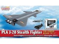 Immagine di DRAGON WARBIRDS PLA J-20 STEALTH FIGHTER 2011 1/144