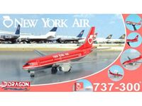 Immagine di DRAGON WINGS NEW YORK AIR 737-300 VINTAGE WITH CLEAR BOX 1/400