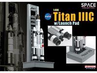 Immagine di DRAGON SPACE COLLECTION NASA TITAN III C WITH LAUNCH PAD 1/400