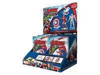 Picture of AVENGERS MARVEL FASCINATIONS ESPOSITORE DA BANCO AVENGERS METAL EARTH