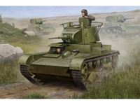 Immagine di HOBBY BOSS KIT SOVIET T-26 LIGHT INFANTRY TANK MOD. 1938 1/35