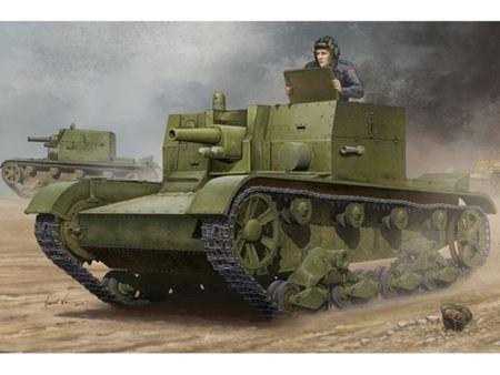 Immagine di HOBBY BOSS KIT SOVIET AT-1 SELF PROPELLED GUN 1/35