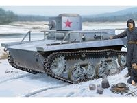 Immagine di HOBBY BOSS KIT SOVIET T-37TU COMMAND TANK 1/35