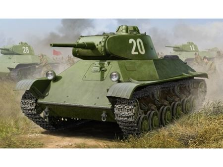 Immagine di HOBBY BOSS KIT RUSSIAN T-50 INFANTRY TANK 1/35
