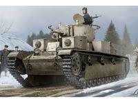 Immagine di HOBBY BOSS KIT SOVIET T-28 MEDIUM TANK RIVETED 1/35