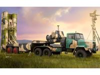 Immagine di HOBBY BOSS KIT RUSSIAN KRAZ-260B TRACTOR WITH 5P85TE TEL S-300PMU 1/35