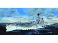 Picture of TRUMPETER KIT HMS HOOD 1/200