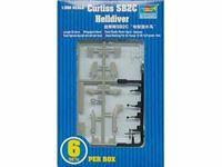 Immagine di TRUMPETER KIT SB2C Helldiver 6 pezzi per confezione 1/350