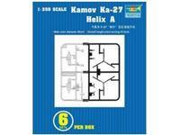 Immagine di TRUMPETER KIT Kamov Ka-27 Helix A 6 pezzi per confezione 1/350