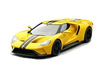 Immagine di TSM MODEL TRUE SCALE MINIATURES FORD GT TRIPLE YELLOW LOS ANGELES 2015 TOP SPEED 1/18