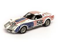 Immagine di TSM MODEL TRUE SCALE MINIATURES CHEVROLET CORVETTE GREENWOOD 24H DAYTONA 1971 1/43