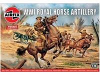 Immagine di 1/76 VINTAGE CLASSIC: WWI Royal House Artillery