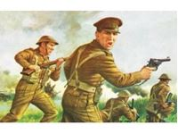 Immagine di 1/76 VINTAGE CLASSIC: WWII British Infantry