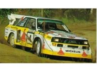 Picture of Audi Quattro S1 Rally Monte Carlo 1985, plastic modelkit 1:24