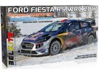 Immagine di KIT 1/24 Ford Fiesta WRC (Versione Campione del Mondo 2017 Rally di Montecarlo)
