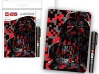 Immagine di Diario Darth Vader con Penna Inchiostro Magico (brand LEGO)