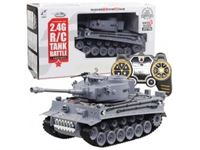 Immagine di 1/18 2.4G R/C tank with smoking & BB bullte shooting