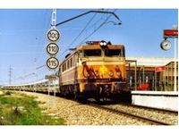 "Immagine di RENFE, electric locomotive 269, ""Estrella"" livery, 269-219-2, period IV, with DCC-sounddecoder"