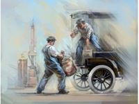 Immagine di 1:24 American Gasoline Loaders (1910s) (2 figures) (100% new molds)