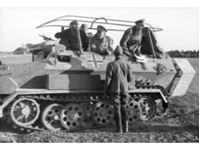 Immagine di 1:35 Sd.Kfz.251/6 Ausf.A with Crew