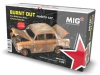 Picture of 1/35 BURNT OUT MODERN CAR