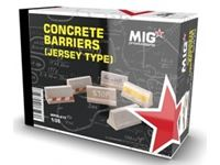 Picture of 1/35 CONCRETE BARRIERS (JERSEY TYPE)