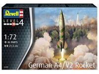 Immagine di 1/72 German A4/V2 Rocket (w/Launch Platform and Trailer)