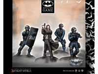 Picture of Knight Models COMMISSIONER GORDON & SWAT TEAM (THE DARK KNIGHT RISES) K35BDKR003