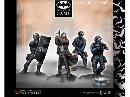 Immagine di Knight Models COMMISSIONER GORDON & SWAT TEAM (THE DARK KNIGHT RISES) K35BDKR003