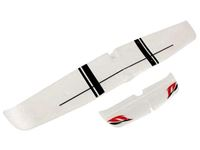 Picture of ALI E CODA Ranger 600 RTF  Sonik rc main wing and tail (painted)
