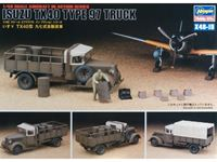 Immagine di Isuzu Tx40 Type 97 Truck with figures and accessories Hasegawa - Nr. 36115 - 1:48