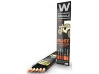 Immagine di WATERCOLOR PENCIL SET RUST AND STREAKING