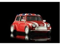 Immagine di MINI COOPER - RED UNION JACK - assembled with aluminum chassis - CAMBER system