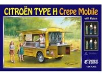 Immagine di 1/24 Citroen Type H Crepe Mobile with Figure