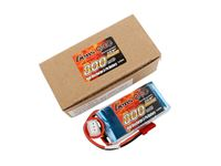 Immagine di Gens ace Pack Soft LiPo 2S-7.4V-800-40C (JST) 56x29x15mm 70g