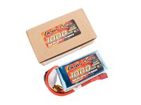 Picture of Gens ace Pack Soft LiPo 3S-11.1V-30C-1000 (DEANS) 75x37x20.5 105g