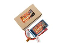Immagine di Gens ace Pack Soft LiPo 2S-7.4V-30C-1300 (DEANS) 79x37x23.5mm 130g