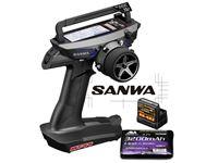 Immagine di Sanwa MT44-PC Combo + RX482 Receivers + Battery