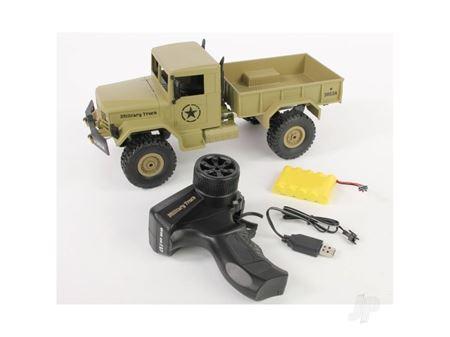 Immagine di HENGLONG 1:16 2.4GHz 4x4 U.S. Military Truck