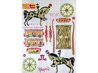 Immagine di AMATI Modelli Traforo  legno colori tipo  A CARRETTO SICILIANO