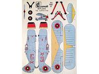 Immagine di AMATI Modelli Traforo  legno colori tipo A BIPLANO
