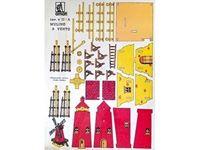 Immagine di AMATI Modelli Traforo  legno colori tipo  A  MULINO A VENTO