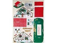 Immagine di AMATI Modelli Traforo  legno colori tipo  A  CASETTA SALVADANAIO
