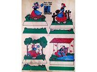 Immagine di AMATI Modelli Traforo  legno colori tipo  A  PORTACHIAVI